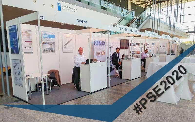 Die #PSE2020 (Plasma Surface Engineering) Industrieausstellung in Erfurt hat begonnen