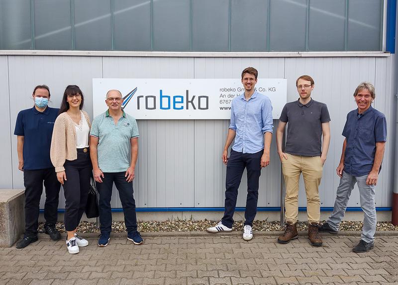 robeko | Testmessung einer Multipolresonanzsonde in Industrieumgebung